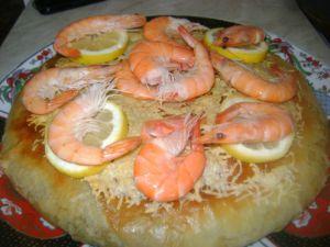 Recette Pastilla aux fruits de mers