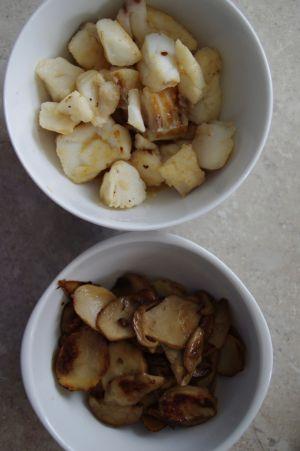 Recette Linguines aux fruits de mer