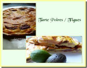 Recette Tarte poires /figues