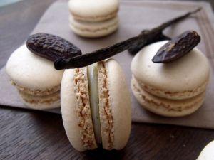 Recette Macarons vanille - fève de tonka