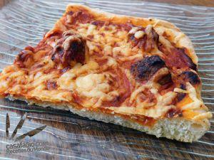 Recette Pizza aux boulettes à la Sicilienne