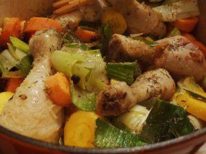 Recette Cocotte poulet - recette de poulet