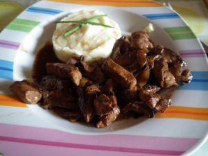 Recette Foie de boeuf aux oignons et monbazillac