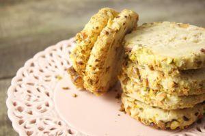 Recette Biscuits au fromage frais et aux pistaches