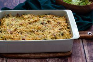 Recette Gratin de macaroni au brocoli et jambon