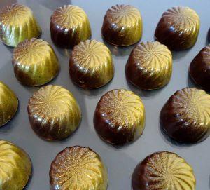 Recette Chocolats fins : chocolat noisettes