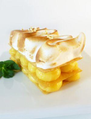 Recette Tarte au citron meringuée... façon millefeuille