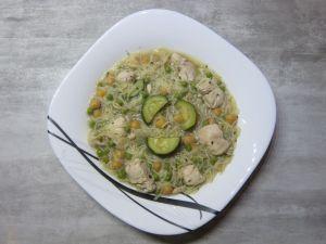 Recette Chorba légumes vert et poulet
