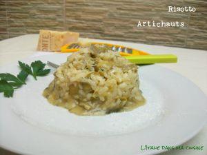 Recette Risotto aux artichauts / Risotto ai carciofi