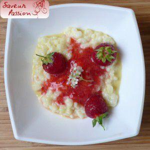 Recette Fraise & sureau, deux desserts régressifs (1) : le riz au lait