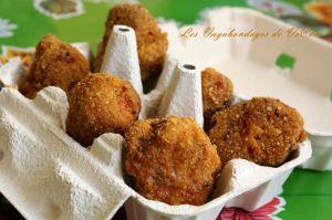 Recette Nuggets de poulet aux curlys