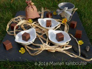 Recette Cubes de chocolat fourrés
