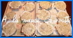 Recette Coquilles st Jacques (ou cassolettes) à la bretonne