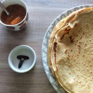 Recette Pâte à crêpe à la fève tonka