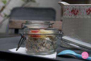 Recette Chia pudding au miel et aux fruits