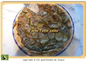 Recette land recette de tarte tatin sal e sur vie quotidienne de flaure - Recette tarte salee originale ...