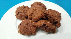 Recette Biscuits au chocolat et cacahuètes (sans beurre)