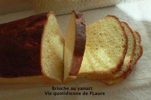 Recette Brioche au yaourt
