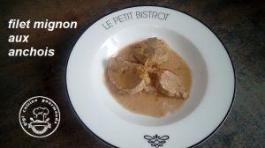 Recette FILET MIGNON de PORC aux anchois (cookéo)