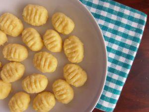 Recette Gnocchis de polenta