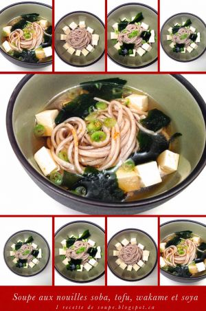 Recette Soupes: les Soupes Japonaises