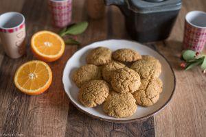 Recette Biscuits à la farine de maïs et à l'orange