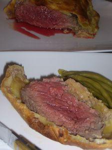Recette Filet de boeuf en croûte au foie gras