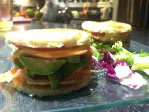 Recette Burger avocat et saumon