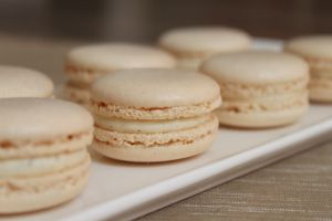 Recette Macarons à la vanille et fève tonka