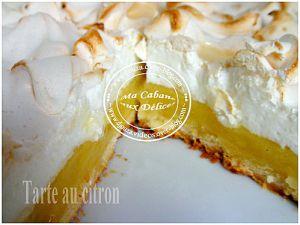 Recette Tarte au citron meringue francaise
