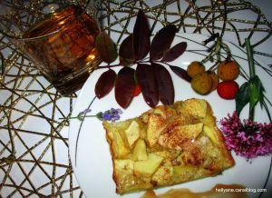 "Recette Gâteau marie christine ""pommes/kirsch"""