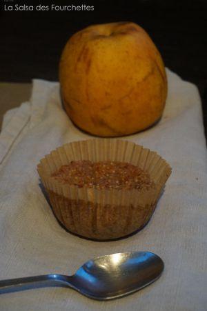 Recette GATEAU Au Quinoa et Aux Pommes Sans Oeuf Sans Gluten et Sans Lactose