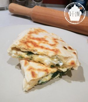 Recette Gözlemes (pains plats turcs farcis) de Chef Nini
