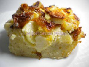 Recette Clafoutis aux pommes, amandes et fève tonka