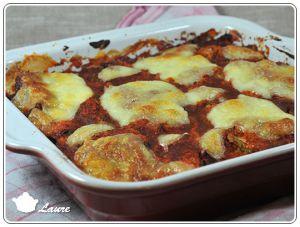 Recette Courgettes à la parmigiana