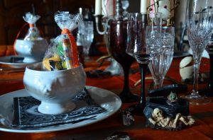 Recette Soupe à la citrouille en chaudron pour Halloween