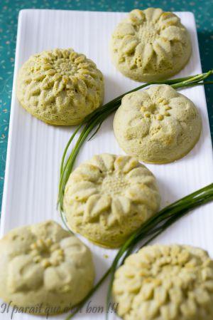 Recette Frittatas d'asperges et Parmesan