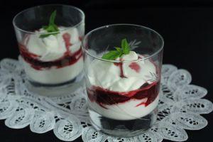 Recette Fontainebleau  fraises et Porto
