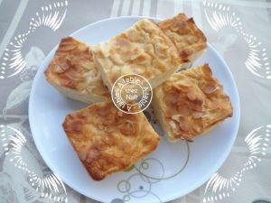 Recette Cuajada aux pommes miel et amandes effilées