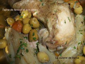 Recette Tajine aux olives et aux fenouils