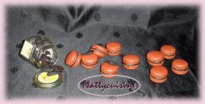 Recette Macaron chocolat fève tonka