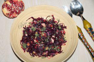 Recette Salade de chou rouge fermenté