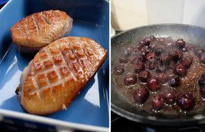 Recette Magret de canard aux cerises griottes | Une recette à base de Pineau de Charentes
