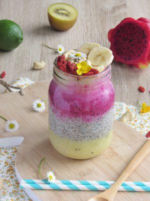 Recette Chia Pudding ultra vitaminé