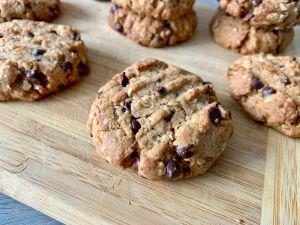 Recette Cookies Beurre de Cacahuète, Avoine & Pépites de Chocolat