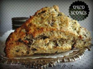 Recette Oreo scones