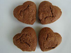 Recette Muffins café , fèves de cacao et Chia