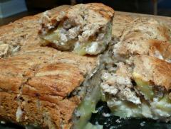 Recette Gâteau aux pommes (vegan)