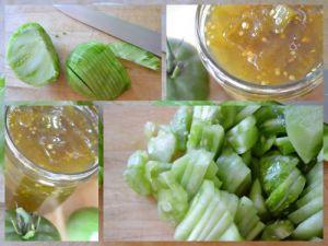 Recette Confiture de tomates vertes à la vanille