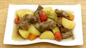 Recette Ragoût de mouton aux pommes de terre